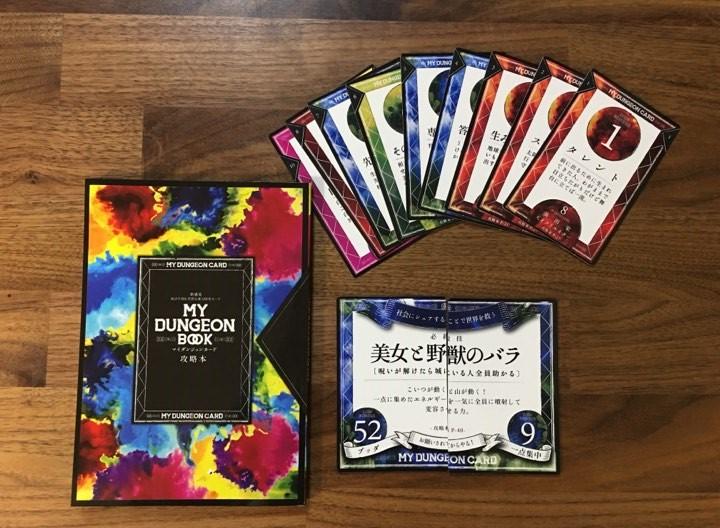 ヒューマンデザイン ダンジョン カードゲーム 内容写真